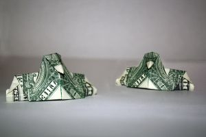 Dollar Peacocks by Wh4T