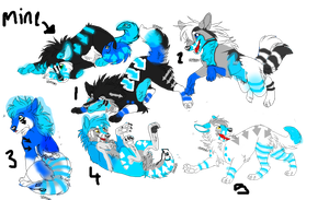 Sky And A Tailmouth Wolf Litter (open) by fluffy40