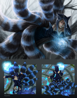 Ahri - Cheshire skin + Download by Equifox