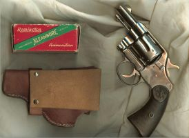 Stock- Colt.45+vintage bullets by idolhands