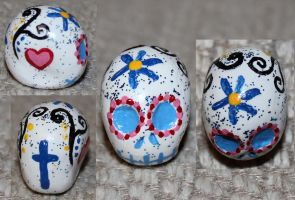 Sugar Skull 67 SOLD by angelacapel