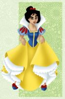 + MULAN as SNOW WHITE + by Opal-I