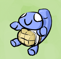 Squirtle of the Day Nov. 6 by artofguy