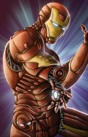Iron Man Digital Painting by KYLE-CHANEY
