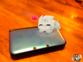 OMG 3DS XL by Chalk-Q