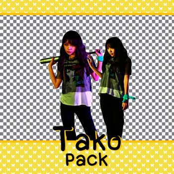 Tako (SNH48) PNG (render) pack 3 by snh48
