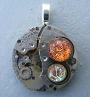 Mechanial Planets Pendant by Create-A-Pendant