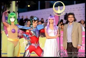 Saint Seiya Cosplay by SilviaArts