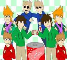 Eddsworld: Hey There, Other Me! by CrasherMang