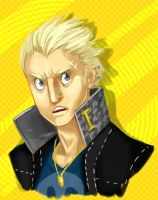 Fan Art - Kanji Tatsumi by Crumbelievable
