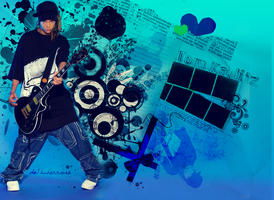 Tom Kaulitz wallpaper 2 by InterRose