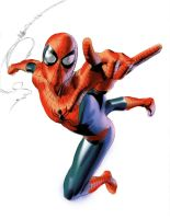 Spidey Test A by mikemayhew
