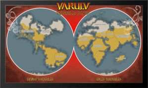 Varulv World Map by dawnbest