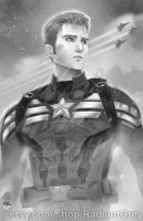 Captain America by Radiant-Grey