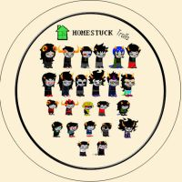 Homestuck Button Layout by hernandez2