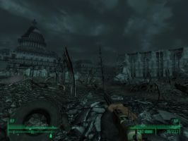 Fallout 3 - Captial Building by Half-dude