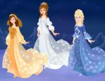 Queens of the sun, the moon and the wind by Eolewyn1010