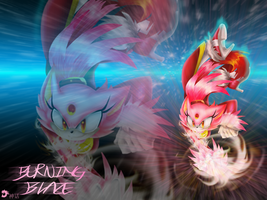 Burning Blaze wallpaper by NegaNeon
