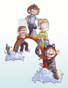 Over The Rainbow by anouki-morgenstern