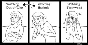 Reactions to Those BBC Shows by Mad-Hattie