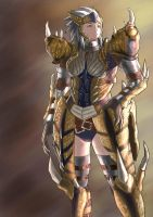 Tigrex Armor - female set by es-jeruk