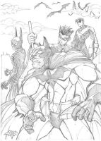 batfamily by spyda-man