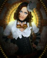 Eva my Steampunk Doll by Marjie79