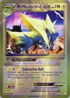 Mega Shiny Manectric EX card by Metoro