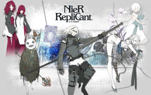 Nier Cast wallpaper by AigisNoir