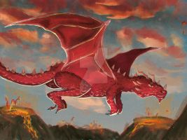 The Red Dragon by CaptainKharma