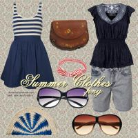 Summer Clothes PNG by camiluchiiz