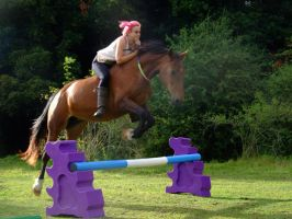 Freestyle Jumping (Bareback and Bridleless) by StarCrossedPsycho