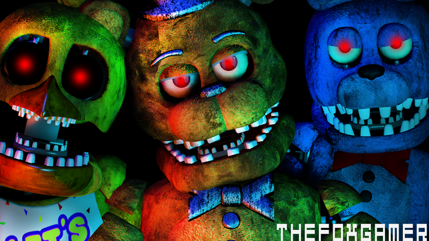 |C4D|FNAF|Five Nights At Freddys 2 REMAKE| by TheFoxGamerOfficial2