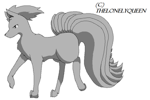 Ninetails Template by TheLonelyQueen