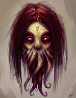 Tentacle Face by Lanasy