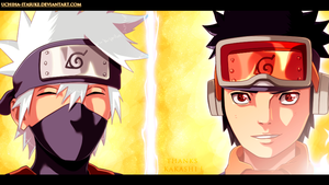 Naruto 691 - Thanks Kakashi ! by uchiha-itasuke