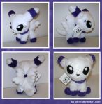 Commission - Skya Plush by sorjei