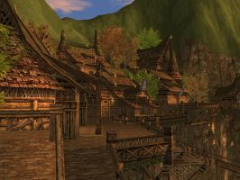 Lineage II - Hunters Village by l2zerk
