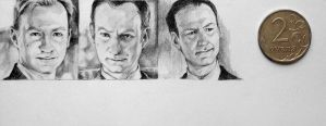 3 mini Mark Gatiss by ymymy