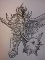 Mordekaiser League of legends by r0binjonsson