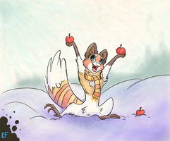 Apples by KrimalFancey