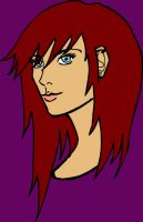 ToDA: Vyse Headshot Colour by Ed-the-fourth