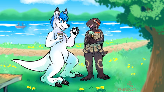 [Commission] Rooth and Toti by raizy