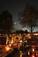 Cemetery at night 1 by Seth890603