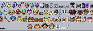 Nintendo Emoticons by OptimalProtocol
