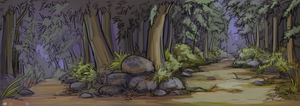 Forest WIP by lunatteo