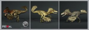 TheHunter Primal Utahraptor by Dinossword