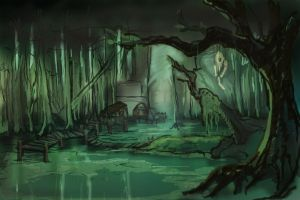 Lostless Swamp Concept01 by Anaxi