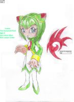 Cosmo The Humanoid Plant by AngelNamine56