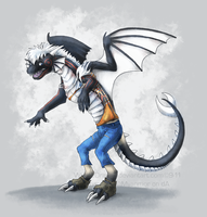 Commission- Dereck TF by WindieDragon